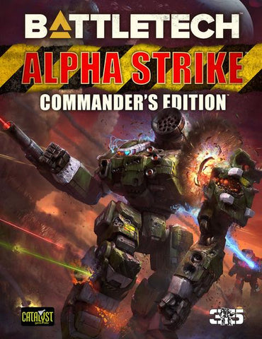 Battletech Alpha Strike: Commanders Edition