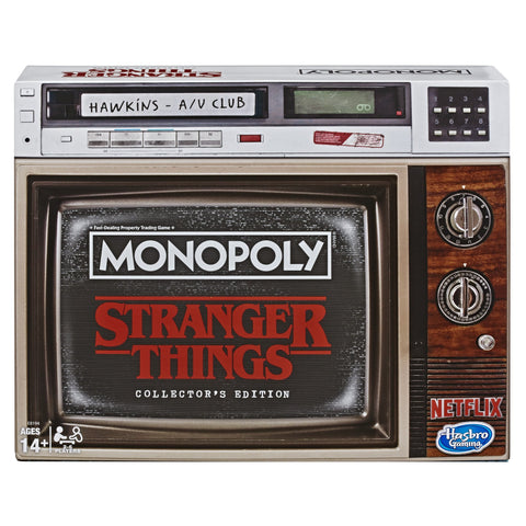 Monopoly Stranger Things Collectors