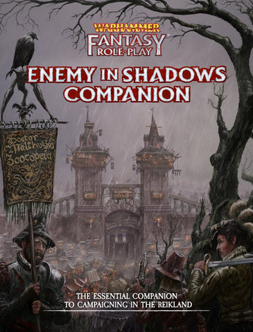 Warhammer Fantasy Roleplay: Enemy Within Director's Cut Vol. 1: Enemy in Shadows Companion + complimentary PDF
