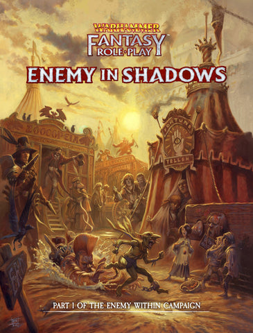 Warhammer Fantasy Roleplay: Enemy Within Director's Cut Vol. 1: Enemy in Shadows + complimentary PDF