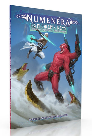 Numenera RPG: Explorers Keys, Ten Instant Adventures