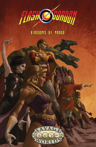 Savage Worlds: Flash Gordon Kingdoms of Mongo Limited Edition Hardcover