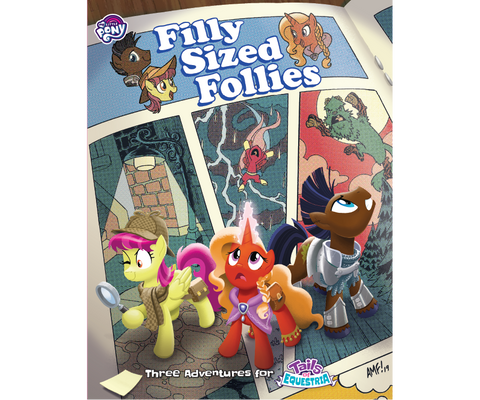 Tails of Equestria (My Little Pony): Filly Sized Follies RPG Expansion