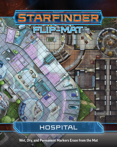 Starfinder Flip-Mat: Hospital (release date 14th November)