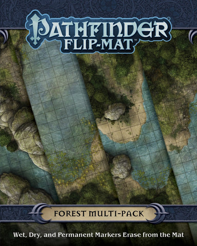 Pathfinder Flip-Mat Multi-Pack: Forest (expected in stock 14th August)
