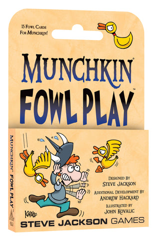 Munchkin Fowl Play (expected in stock on 25th September) - very limited stock.