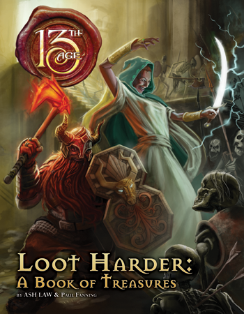 13th Age: Loot Harder + complimentary PDF - Leisure Games