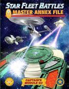 Star Fleet Battles: G3: Master Annex File