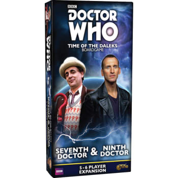 Seventh Doctor and Ninth Doctor Expansion Doctor Who Time of the Daleks