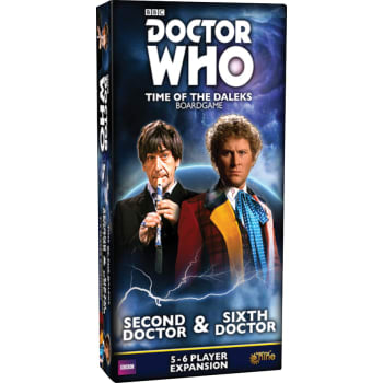 Doctor Who Time of the Daleks: Second Doctor and Sixth Doctor Expansion (in stock now)