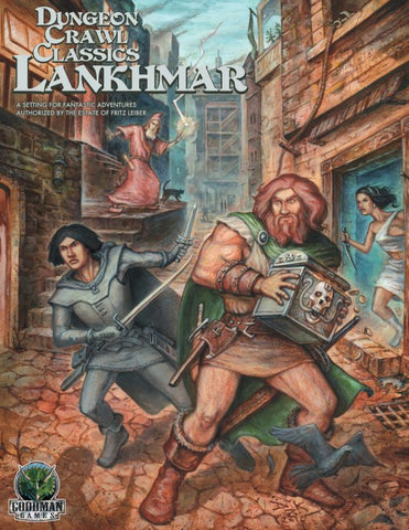 Dungeon Crawl Classics RPG Lankhmar:  Boxed Set