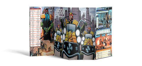 Judge Dredd & The Worlds of 2000 AD GM Screen