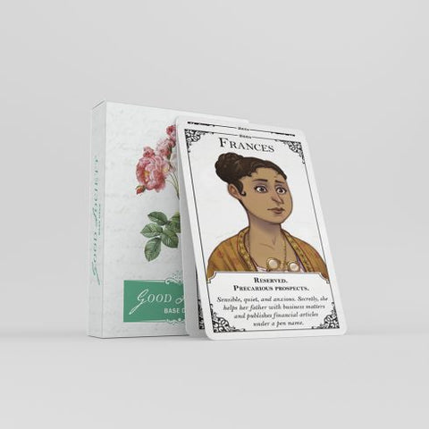Good Society: A Jane Austen RPG - Base Deck