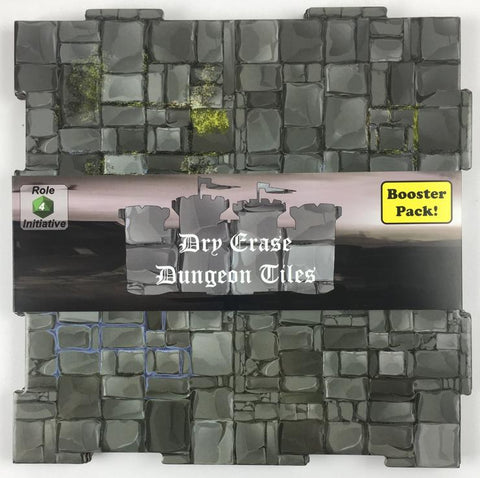 Dry Erase Dungeon Tiles: Greystone Square Booster Pack