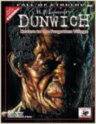 Call of Cthulhu: H.P. Lovecraft's Dunwich Sourcebook + complimentary PDF - Leisure Games