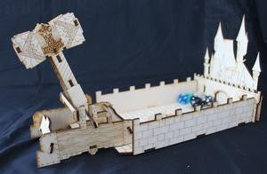 Dice Thrower: King's Castle with Hammer