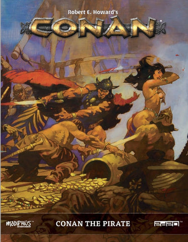 Conan RPG: Conan the Pirate +complimentary PDF
