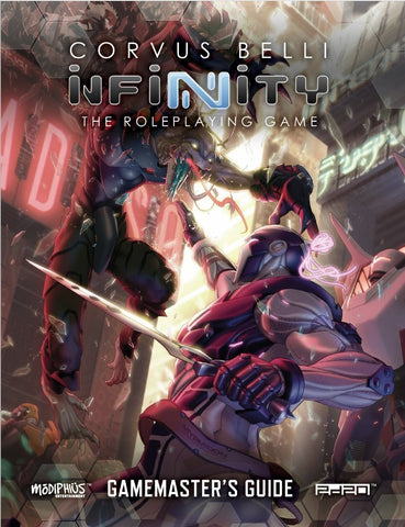 Infinity The Roleplaying Game: Gamemaster's Guide + complimentary PDF