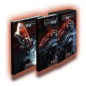 Infinity 3rd Edition Rulebook Slipcase (2 Books)