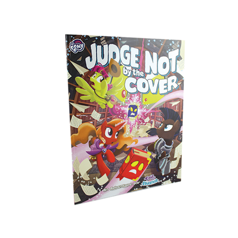 Tails of Equestria (My Little Pony): Judge Not by the Cover