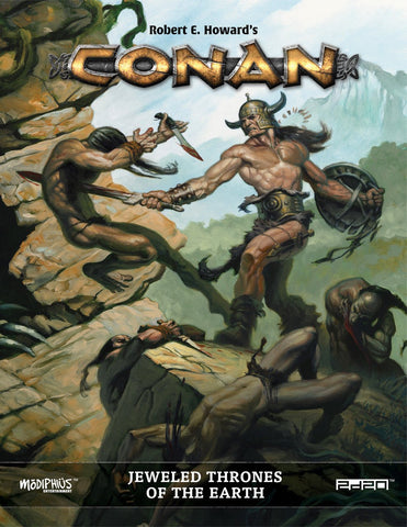 Conan RPG: Jeweled Thrones of the Earth + complimentary PDF - Leisure Games