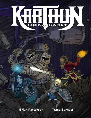 Karthun: Lands of Conflict RPG + complimentary PDF