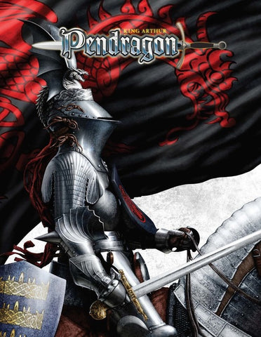 King Arthur Pendragon Core Rule Book - 5.2 Edition - Hardcover + complimentary PDF