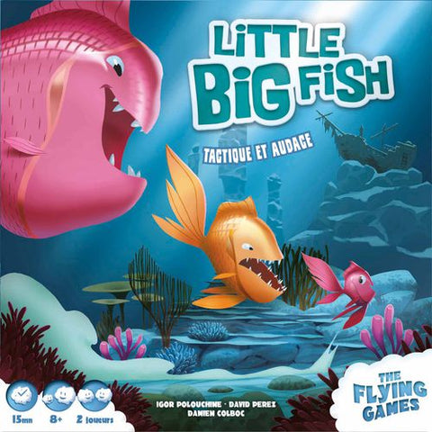 Little Big Fish (French language edition - English rules included) - reduced