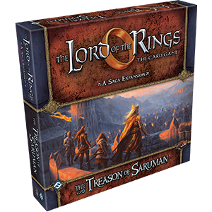 Lord of the Rings LCG: The Treason of Saruman Saga Expansion