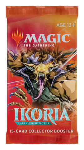 MTG: Ikoria- Lair of Behemoths Collector Booster - pre-order (expected in stock on 15th May)