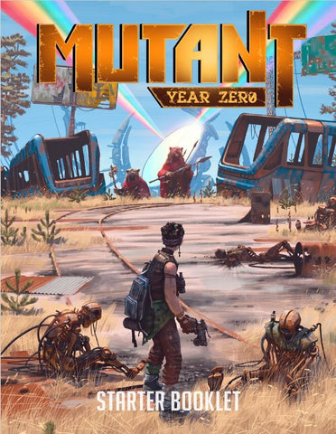 Mutant: Year Zero RPG: Starter Booklet + complimentary PDF