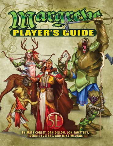 Tales of the Old Margreve Player's Guide for 5th Edition
