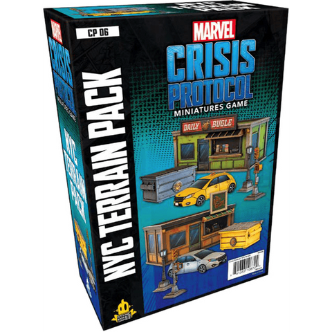 Marvel Crisis Protocol: NYC Terrain Expansion - pre-order