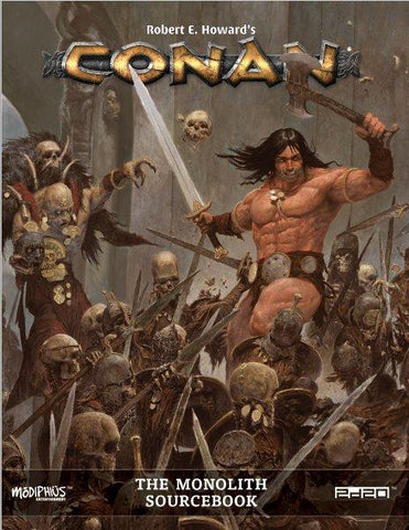 Conan RPG: The Monolith Sourcebook + complimentary PDF