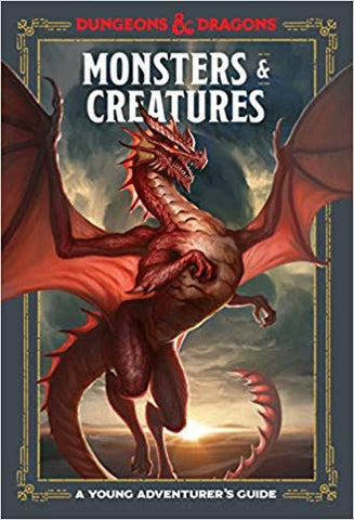Dungeons and Dragons: A Young Adventurer's Guide to Monsters and Creatures