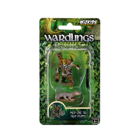 WizKids Wardlings Miniatures: Mud Orc & Mud Puppy