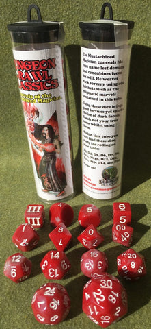 Marvels of the Mustachioed Magician (Dungeon Crawl Classics Dice)