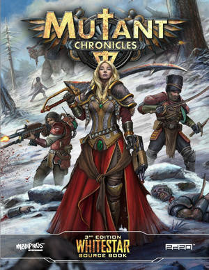 Mutant Chronicles: Whitestar Source Book + complimentary PDF