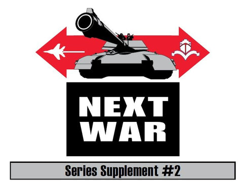 Next War Supplement #2 (expected in stock on 10th February)