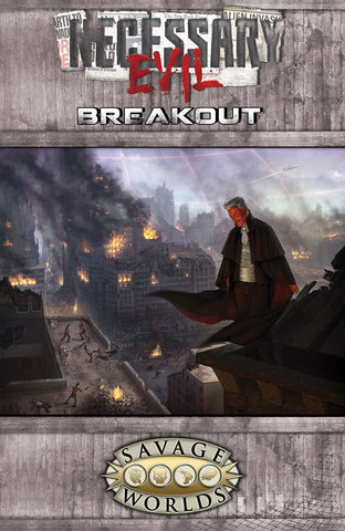 Necessary Evil: Breakout Softcover