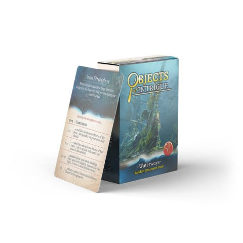 Fifth Edition: Objects Of Intrigue: Waterways Deck