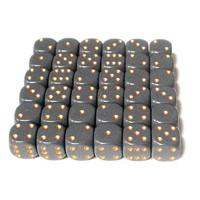 CHX25420 Opaque Dark Grey with Copper Polyhedral 7-Die Set*