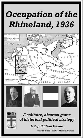 Occupation of the Rhineland, 1936 (3rd edition)