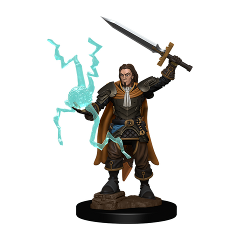 WZK77504: Human Cleric Male: Pathfinder Battles Premium Painted Figure (W1)