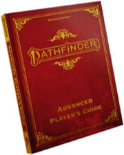 Pathfinder Advanced Player's Guide Special Edition (expected in stock on 25th August)