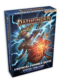 Pathfinder RPG Second Edition: Critical Fumble Card Deck