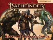 Pathfinder Bestiary 2 Battle Cards