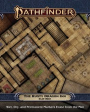 Pathfinder Flip-Mat: The Rusty Dragon Inn (expected in stock on 18th November)