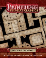 Pathfinder Flip-Mat Classics: Ancient Dungeon (release date 17th October)