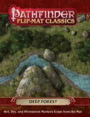 Pathfinder Flip-Mat Classics: Deep Forest (release date 24th April)